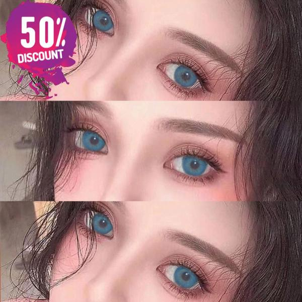Blue Green Brown Grey Colored Eye Contact Lenses for Natural Look Eye Contact Lenses FREE SHIPPING 4