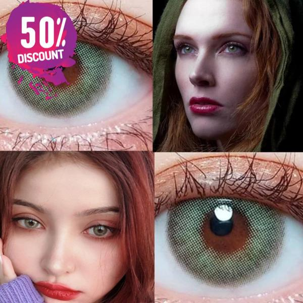 Blue Green Brown Grey Colored Eye Contact Lenses for Natural Look Eye Contact Lenses FREE SHIPPING 7
