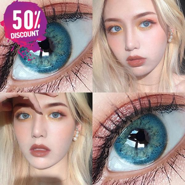 Blue Green Brown Grey Colored Eye Contact Lenses for Natural Look Eye Contact Lenses FREE SHIPPING 5