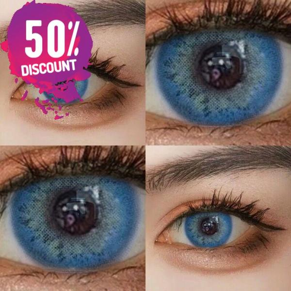 Russian Blue Taylor Blue Eye Contact Lenses For Blue Green Colored Eyes Eye Contact Lenses FREE SHIPPING 3