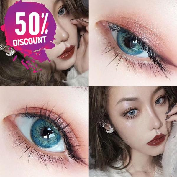 Russian Blue Taylor Blue Eye Contact Lenses For Blue Green Colored Eyes Eye Contact Lenses FREE SHIPPING 7