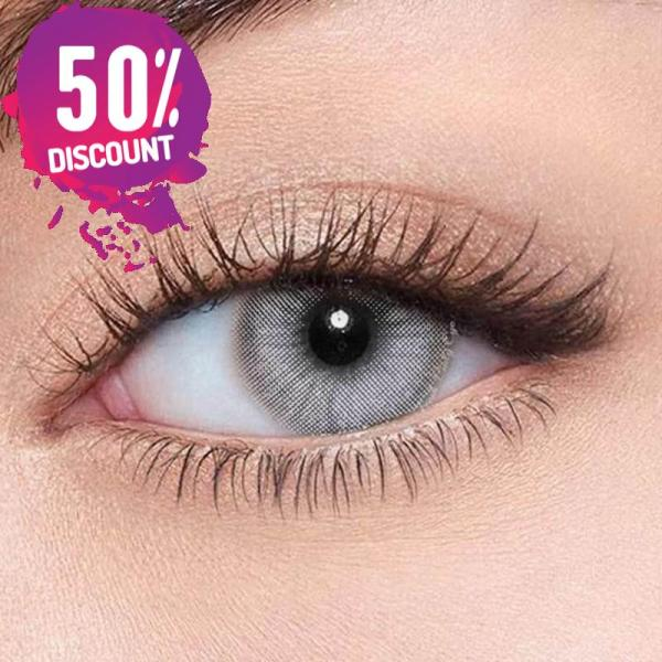 Natural Gray Colored Eye Contact Lenses For a Sexy Arabian Look Eye Contact Lenses FREE SHIPPING 4
