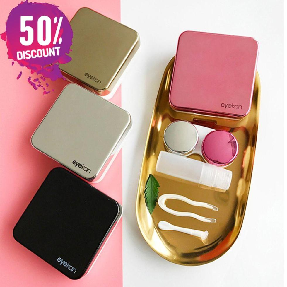 Colored Contact Lenses Case With Mirror Lovely Contact Lenses Travel Kit Box