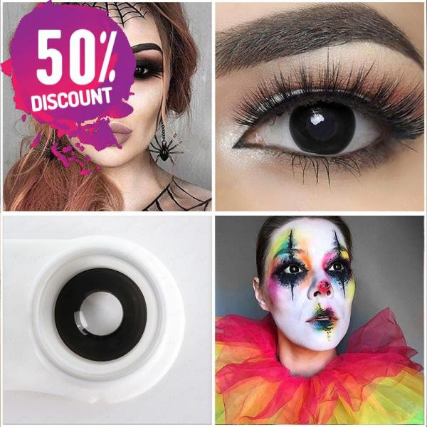 NARUTO Sharingan Colored Contact Lens for Red White Anime Eyes Accessories FREE SHIPPING 4