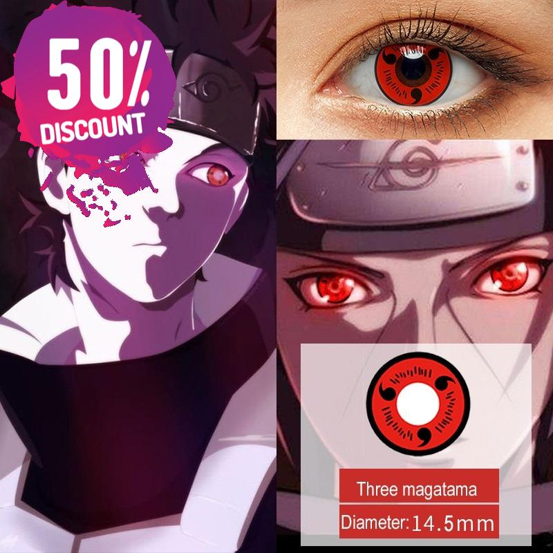 shop naruto sharingan contact lenses online perfect for halloween and cosplay