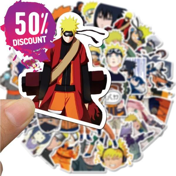 NARUTO Waterproof Stickers 10/30/50pcs/Pack Accessories FREE SHIPPING 5