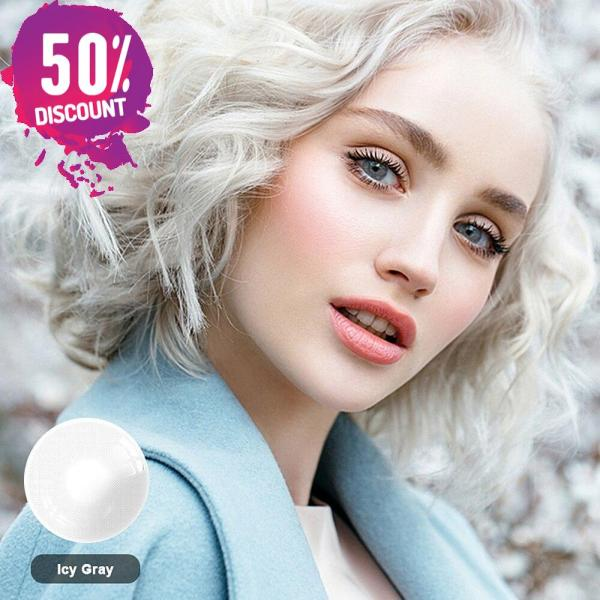 Queen Hidrocolor Colored Eye Contact Lenses-1 Year Use-Premium Quality Eye Contact Lenses FREE SHIPPING 6