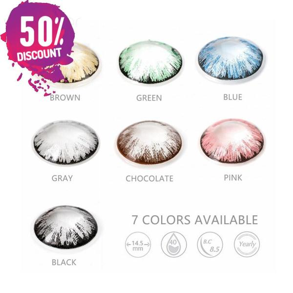 Glitter Colored Eye Contact Lenses for a Beautiful Sparkling Look-Premium Quality Eye Contact Lenses FREE SHIPPING 4