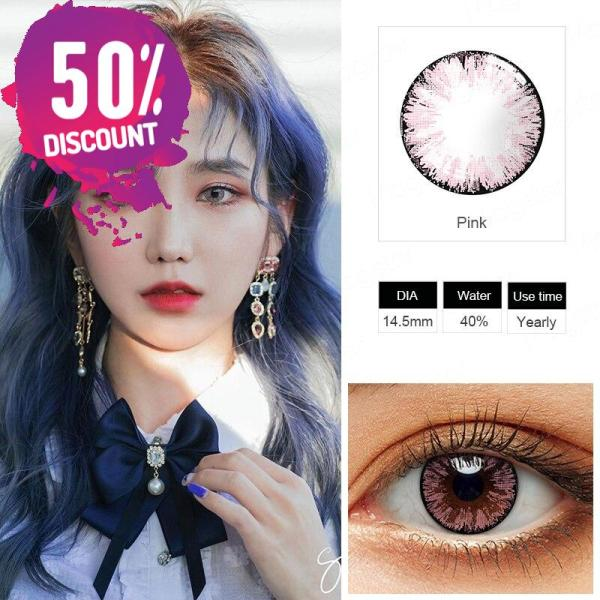 Glitter Colored Eye Contact Lenses for a Beautiful Sparkling Look-Premium Quality Eye Contact Lenses FREE SHIPPING 8