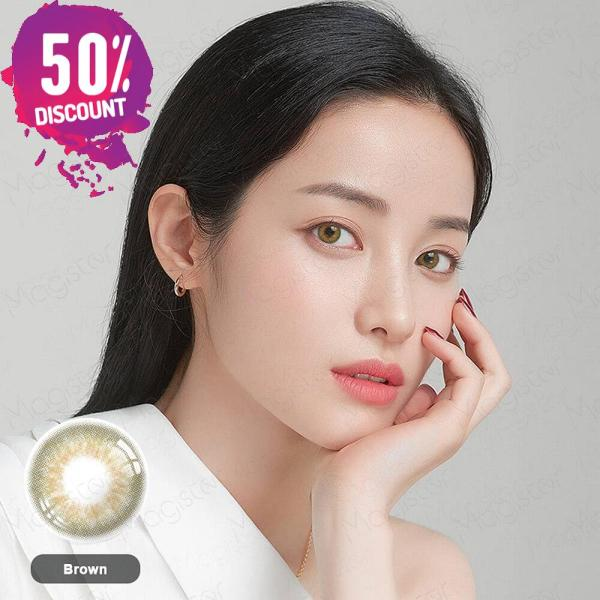 3 Tones Gleam Colored Eye Contact Lenses For a Soft Creamy Look Eye Contact Lenses FREE SHIPPING 8