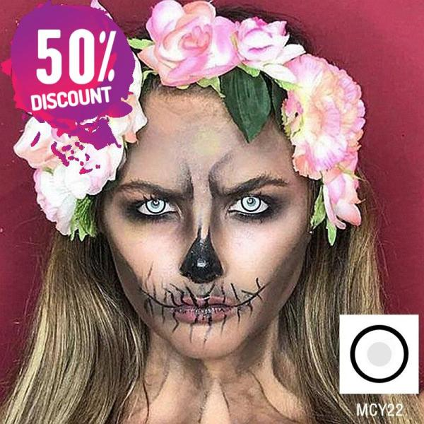 Cosplay Blackout Whiteout Contacts Halloween Eye Lenses-1 Year Use-Premium Quality Eye Contact Lenses FREE SHIPPING 7