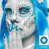 Cosplay Blackout Whiteout Contacts Halloween Eye Lenses-1 Year Use-Premium Quality Eye Contact Lenses FREE SHIPPING 16