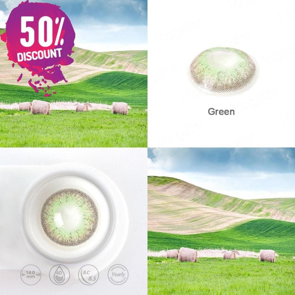 Mystery Delight Colored Eye Contact Lenses For A Soft Candy Look
