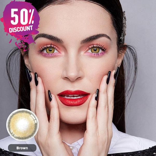 Mystery Delight Colored Eye Contact Lenses For A Soft Candy Look Eye Contact Lenses FREE SHIPPING 7