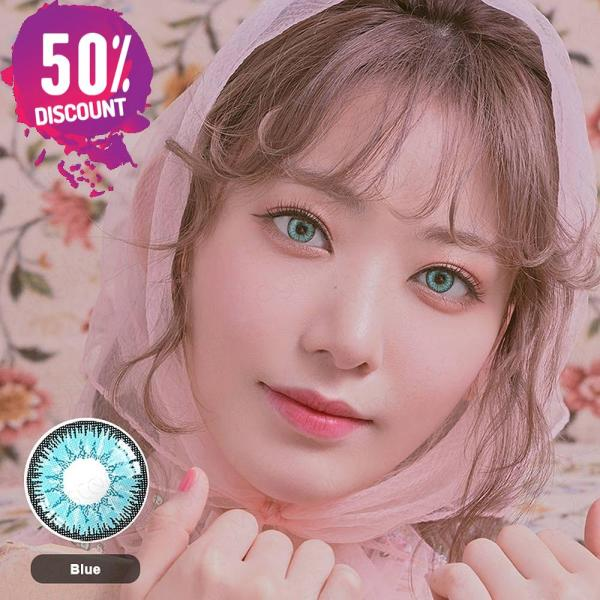 Radiant Bright Colored Eye Contact Lenses-7 Colors Available-1 Year Use-Premium Quality Eye Contact Lenses FREE SHIPPING 5
