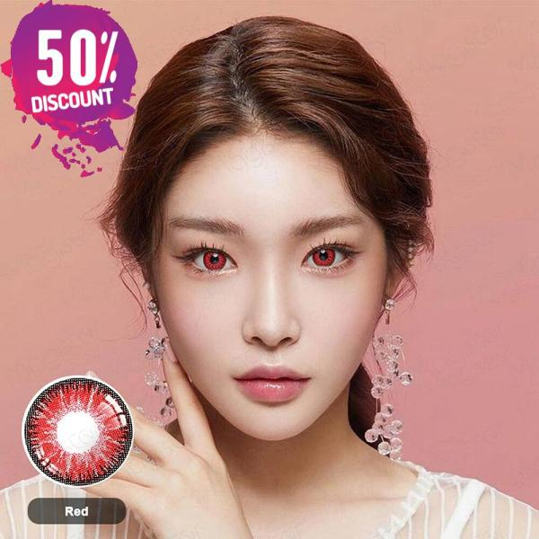 Radiant Bright Colored Eye Contact Lenses-7 Colors Available-1 Year Use-Premium Quality Eye Contact Lenses FREE SHIPPING 7