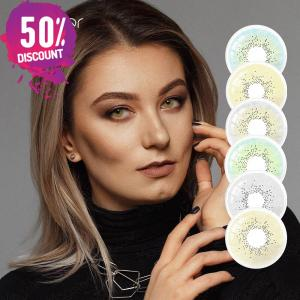 Pattaya Soft Colored Eye Contact Lenses for Natural Looking Colored Eyes-1 Year Use Eye Contact Lenses FREE SHIPPING
