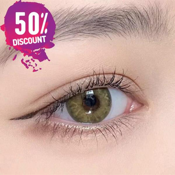 Gemstone Colored Eye Contact Lenses For Blue Green Pink Hazel Beautiful Colored Eyes Eye Contact Lenses FREE SHIPPING 5