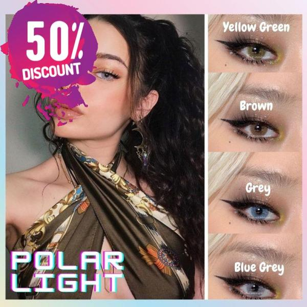 Prescription Colored Contacts For Myopia Hydrolocor Gray Green Nrown Color Contact Lenses-1 Year Use Eye Contact Lenses FREE SHIPPING 3