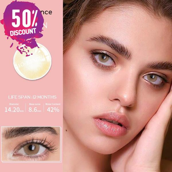 Prescription Colored Contacts For Myopia Natural Gray Green Blue Brown Eye Contact Lenses-1 Year Use Eye Contact Lenses FREE SHIPPING 5