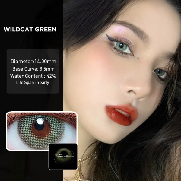 Prescription Colored Contacts for Myopia Green Blue Brown Colored Eye Contact Lenses-1 Year Use Eye Contact Lenses FREE SHIPPING 7