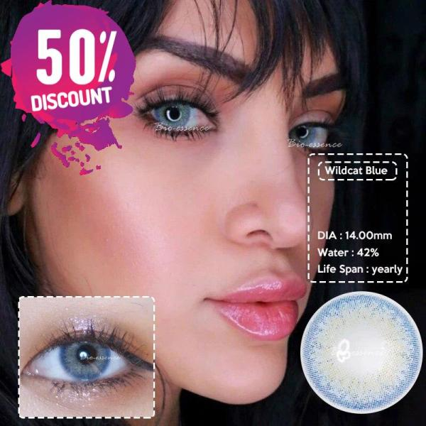 Prescription Colored Contacts for Myopia Green Blue Brown Colored Eye Contact Lenses-1 Year Use Eye Contact Lenses FREE SHIPPING 6