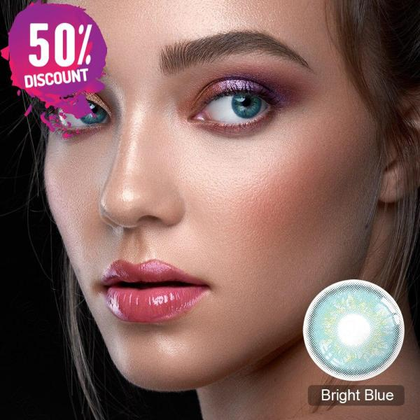 Lady Dimitrescu Contact Lenses For Colored Cosplay Anime Eyes-1 Year Use- Premium quality Eye Contact Lenses FREE SHIPPING 8