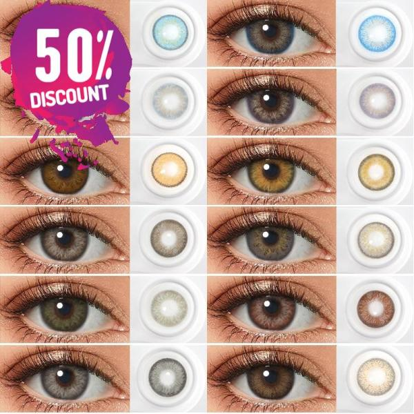 Lady Dimitrescu Contact Lenses For Colored Cosplay Anime Eyes-1 Year Use- Premium quality Eye Contact Lenses FREE SHIPPING 4