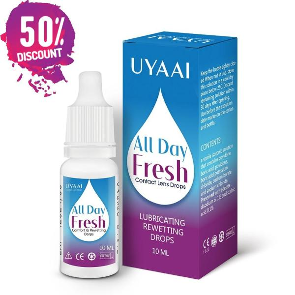 Contact Lens Solution Liquid For Cleaning and Health Care 10ml Eye Drops Accessories FREE SHIPPING 3
