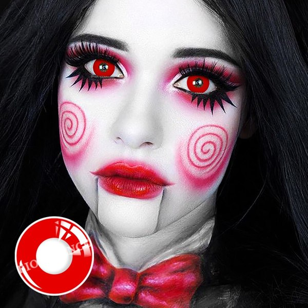 Halloween Circle Colored Contact Lenses Anime Cosplay Eye Lenses Eye Contact Lenses FREE SHIPPING 5