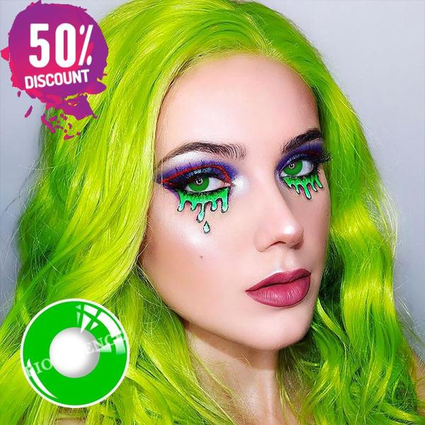 Halloween Circle Colored Contact Lenses Anime Cosplay Eye Lenses Eye Contact Lenses FREE SHIPPING 7