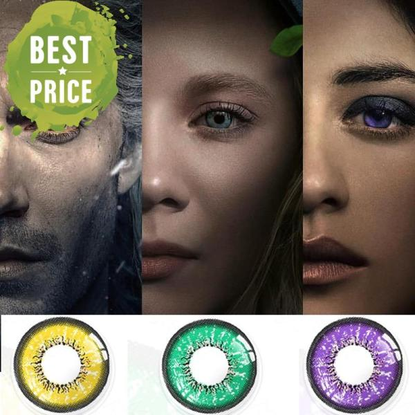 Witcher Contact Lenses Geralt of Rivia Yennefer Ciri Cosplay Colored Contacts Perfect for Halloween