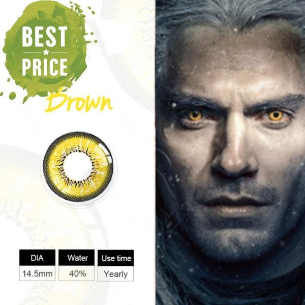 Geralt of Rivia Yennefer Ciri Cosplay Colored Contacts Perfect for Halloween