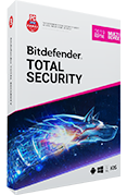 Bitdefender Total Security Multi-Device 2019 (5 apparaten, 1 Jaar)