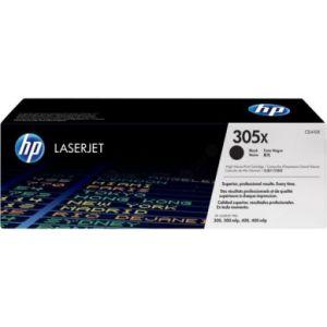 HP Tonercartridge zwart, 4.000 pagina's, hoge capaciteit CE410X Replace: N/A