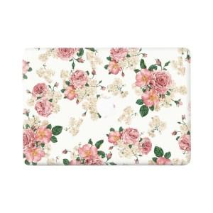 Lunso - vinyl sticker - MacBook Air 13 inch (2010-2017) - Flower Pink