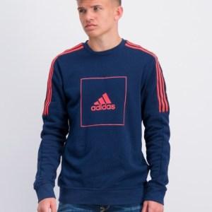 Adidas Performance, JB A AAC CREW, Blauw, Truien/cardigans till Jongens, 152 cm