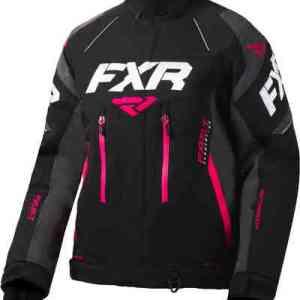 FXR Adrenaline X Dames jas Zwart Pink L XL