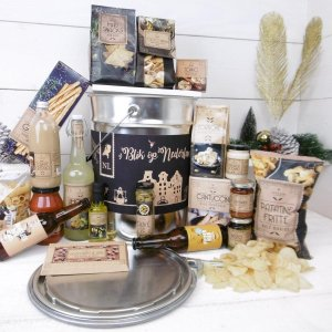 Kerstpakket Blik op ItalieÃà met circulair bier (6 stuks)
