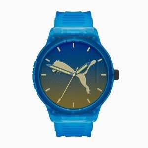 PUMA RESET V2 horloge, Blauw/Aucun