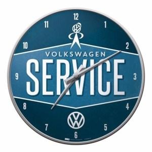 Volkswagen wandklok service 31 cm