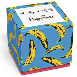 Happy Socks Andy Warhol Limited Edition Giftbox