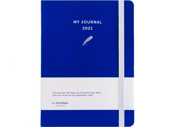 My Journal Jaaragenda 2021 - Indigo blauw