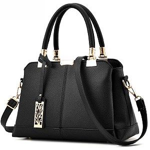 Plain Basic Pu Handbag
