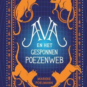 Ava en het gesponnen poezenweb - Marieke Poelmann - Hardcover (9789020624960)