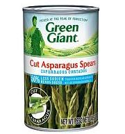 Green Giant Cut Asparagus Spears 50 Less Sodium 145 oz