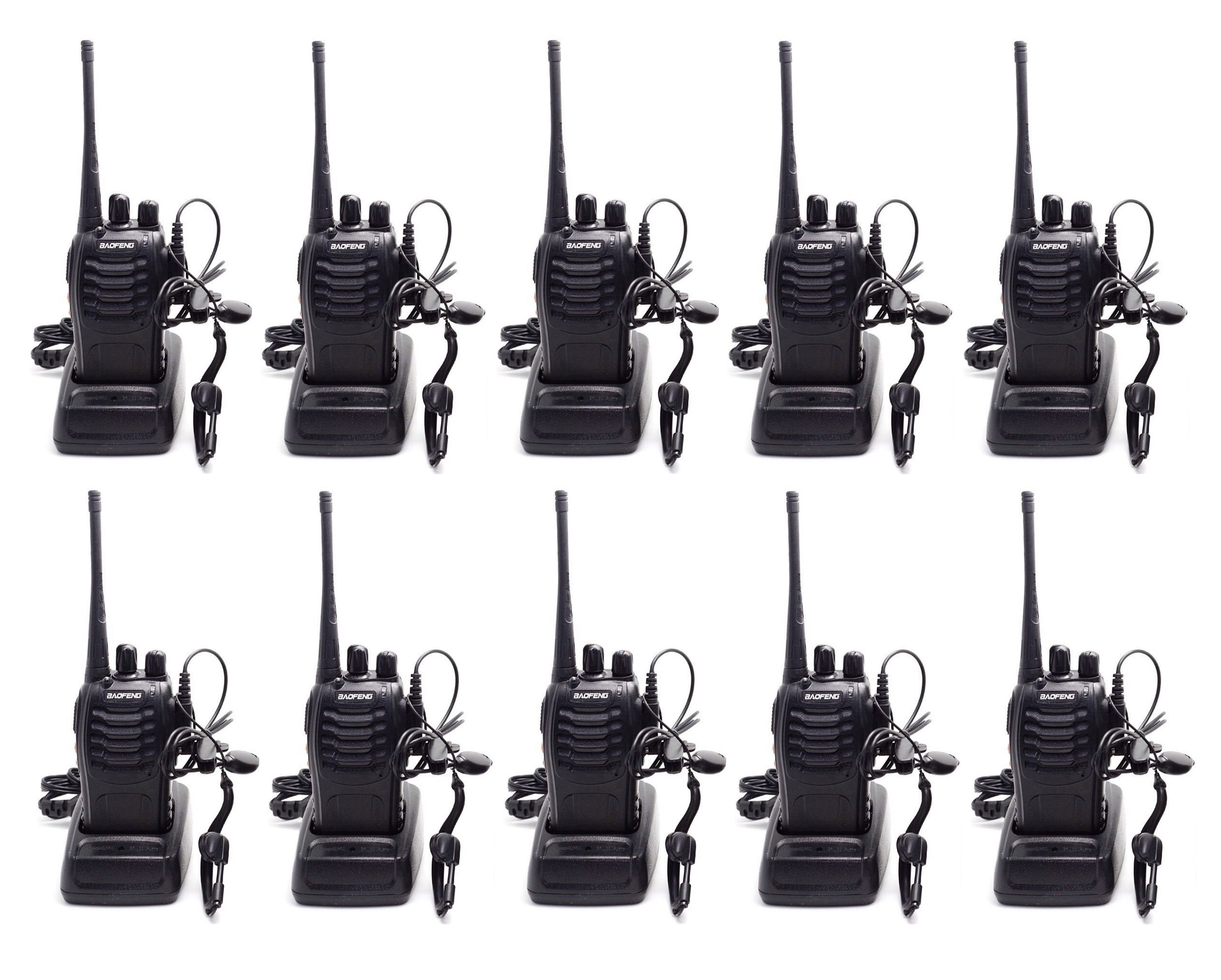 10 Pack Uhf 400 470mhz 2 Way Radios Shop For Things