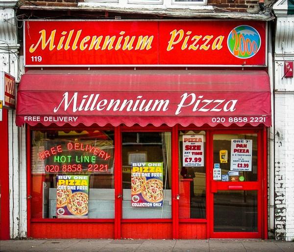 Millennium Pizza Shopfront Elegy