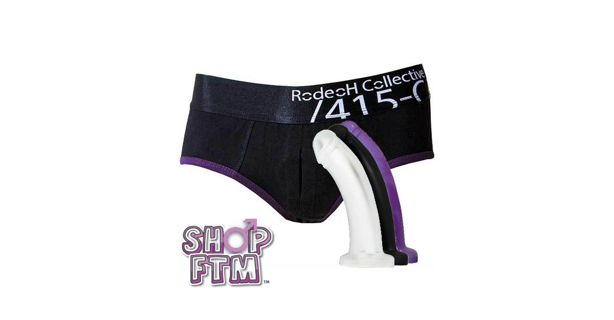 Rodeoh Black Harness Jockstrap Platinum Package