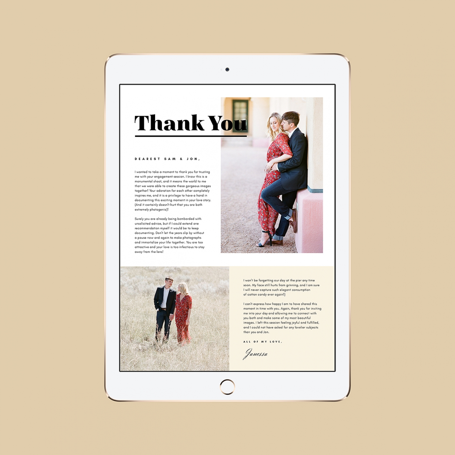 Client Thank You Notes For Email